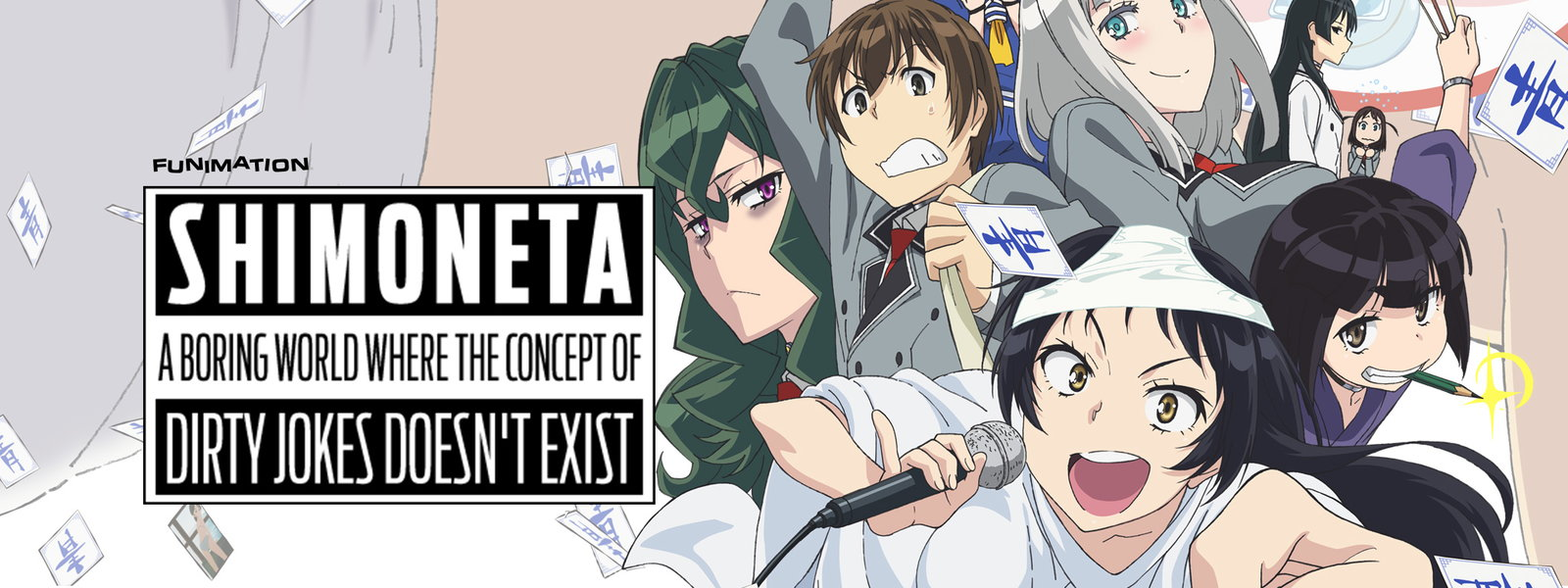 Anime Lewdness Porn shimoneta: a boring world where the concept of dirty jokes